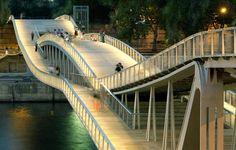Roller Coaster Curves Put the Fun Back in Footbridges - Architizer