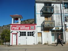 Pioche Fire House, Nevada