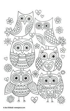 Cute owls you can draw at home! You can use them for temples for embroidery or just practice drawing! Cute DOODLING draw drawing embroidery happy Home owls practice temple Temples