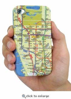 Coolness. MTA New York City Subway iPhone Case