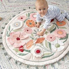 Baby Gym, Baby Play, Baby Sense, Activity Mat, Baby Development, Infant Activities, Baby Girl Gifts, Baby Sewing, Crate And Barrel