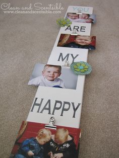 Adorable DIY Photo B