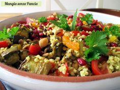 Il miglio con verdure all'orientale è un'esplosione di gusto e colore a tavola. Nutriente e leggero, adatto anche alla dieta vegana.