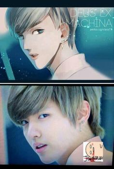 Kris fanart// I always knew Kris walked straight out of an anime