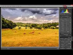 Tutorial Lightroom: Retocar un paisaje usando tonos fríos y cálidos. - YouTube
