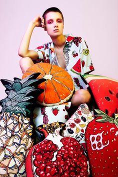 Amara | Luxury Gifts and Homeware | Silken favours | Silk cushions, design, fun interiors, fruit cushion