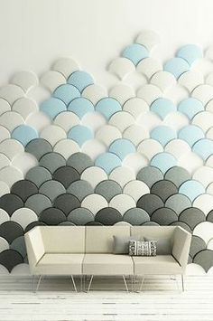 love-spain:  'gingko acoustic panel' by stone designs