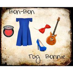 """""""Bon-Bon (Toy Bonnie) FNAF2"""" by accillia on Polyvore"""