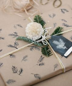 ⬇ TUTORIAL gift wrap paper
