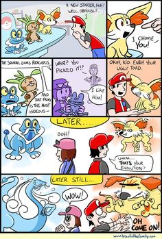 Brawl in the Family: Starters - Image 1 Why do all the new starters begin cute, but then end up ugly??? WHY?