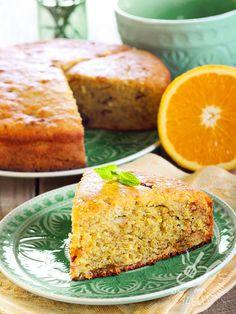 La Torta di grano saraceno all'arancia è un dessert semplice, leggero e davvero appetitoso. In poco tempo realizzerete una torta genuina e profumata. Torte Cake, Magic Recipe, Sweet Life, No Bake Cake, Biscotti, Cornbread, Buffet, Bakery, Food Porn