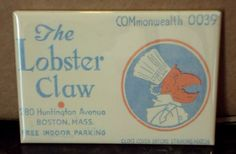 Lobster Claw Restaurant Fridge Magnet by BlueCrabMagnets on Etsy, $4.50