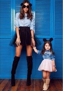 MOM & DAUGHTER   ADORABLE   FASHION   M E G H A N ♠ M A C K E N Z I E