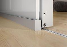 Gleittür S1200 LED Detailansicht/ sliding door S1200 LED detail