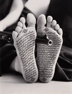 """Shirin Neshat. """"Allegiance with Wakefulness"""". 1994. From the serie """"Women of Allah""""."""