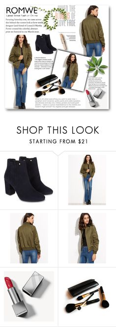 """""""romwe"""" by sanela-3 ❤ liked on Polyvore featuring Monsoon, Burberry and Iman"""