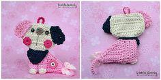 Cachorro de ganchillo / perro modelo ornamento Por VendulkaM en Etsy
