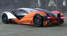 Aero Concept Car by Michal Jelinek