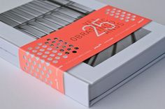 packaging - using a sleeve for branding  Love the die cutting on this. Allane.