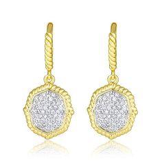 Pave Cubic Zirconia Octagon Drop Earrings (Gold Tone) BIJ... https://www.amazon.com/dp/B01LZFQS80/ref=cm_sw_r_pi_dp_x_m2M.xbMBN78B1