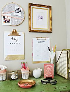 13 Quick And Easy Ways To Upgrade Your Home Office  - ELLEDecor.com