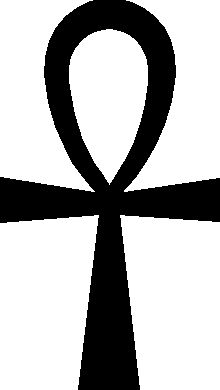 The Ankh Cross or Gnostic Ankh according to Symbol Dictionary online: