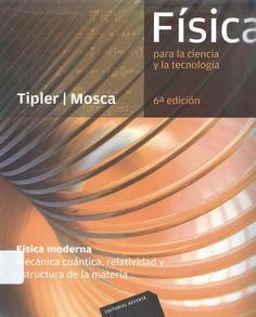 "Tipler, Paul A. ""Física para ciencia y tecnología. Física moderna"" 6ª ed. 1 ejemplar"