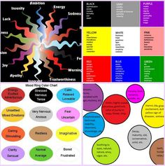 Moods And Color moods - - good selection. mainly positive   the many moods of