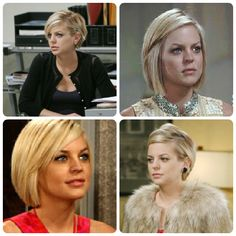 Kirsten Storms hair. Maybe as short as the bottom left.