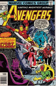 Avengers 168 February 1978 Issue  Marvel Comics  Grade NM