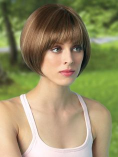 Looking for the best way to bob hairstyles 2019 to get new bob look hair ? It's a great idea to have bob hairstyle for women and girls who have hairstyle way. You can get adorable and stunning look with… Continue Reading → Bob Hairstyles For Thick, Hairstyles With Bangs, Graduated Bob Haircuts, Bob Cut Wigs, Wig Bob, Chin Length Bob, Short Hair Cuts, Hair Type, Hair Trends