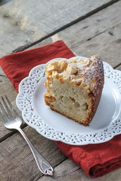 Classic Apple Cake - no dairy here, so just switching out gf cake flour!!