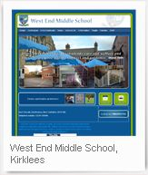 West End Middle School, Kirklees -  School Jotter Website