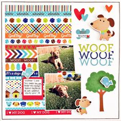 We have a new challenge category at Paper Issues ! It's all about scrapping your pets or animals in your life. Dog Scrapbook Layouts, Scrapbook Paper, Scrapbooking Ideas, Picture Layouts, Pet News, Animal Crafts, Projects To Try, Card Making, Doodles