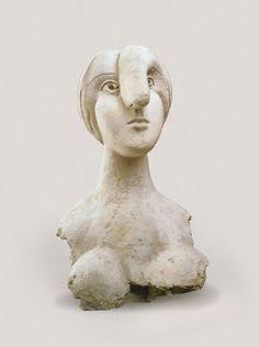 Pablo Picasso, Bust of a Woman (Marie-Thérèse) (Buste de femme [Marie-Thérèse]), Boisgeloup, 1931