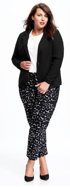 0d008483ae1 Plus Size Blazer Más Curvy Girl Fashion ...