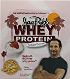 Jay Robb  Grass-Fed Whey Protein Isolate Powder Outrageously Delicious Strawberry 12 Packets Reviews