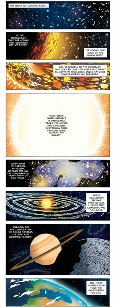Neil deGrasse Tyson's most astounding fact adapted as a comic