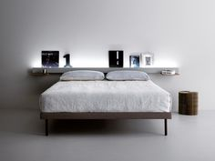 Double bed GROOVE by Caccaro design Monica Graffeo