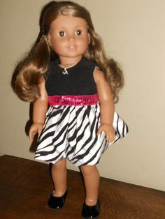 18 Inch Doll Clothes American Girl Love To Be Wild by TCsTreasures, $20.00