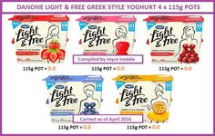 Yogurt Aldi Slimming World Syns, Slimming World Syn Values, Slimming World Tips, Slimming Word, Slimming World Desserts, Slimming World Recipes, Syn Free Yogurts, Sw Meals, Speed Foods