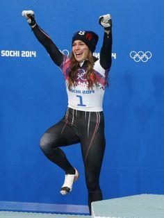 Noelle Pikus-Pace made her skeleton comeback a family affair. Sexy Bikini, Bikini Girls, Luge, Winter Games, Family Affair, Team Usa, Winter Olympics, Athletic Women, Sport Girl