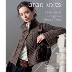 The Rowan Worsted Knits pattern book by Martin Storey includes 23 traditional designs for men and women. The book contains a great range of cardigans, sweaters, jackets and accessories from around the British Isles. All the patterns have the traditional cables that make worsted sweaters so special.
