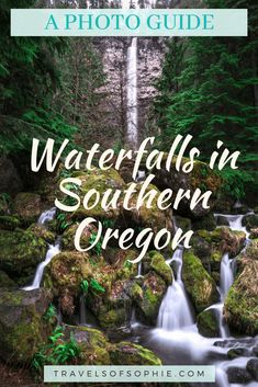 If you're planning to visit Oregon, then you shouldn't overlook the waterfalls in Southern Oregon. This Southern Oregon Canon Beach Oregon, Gold Beach Oregon, Seaside Oregon, Southern Oregon Coast, Newport Oregon, Oregon Beaches, Oregon Waterfalls, Jacksonville Oregon, Ashland Oregon