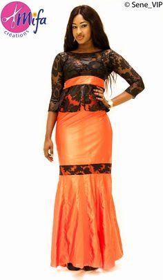 Taille Basse Sénégalaise à la mode Pagne et Haut