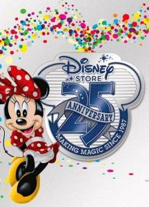 Disney Store celebrates 25 years with great deals!