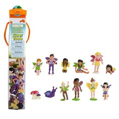 Safari Ltd. Super TOOBs - Friendly Fairies - Quality Construction from Phthalate, Lead and BPA Free Materials - For Ages 3 and Up - Bast Figures Safari, Teenager Birthday, 4th Birthday, Fairy Tea Parties, Tea Party, Create A Fairy, Fairy Figurines, Cute Poses, Science Kits
