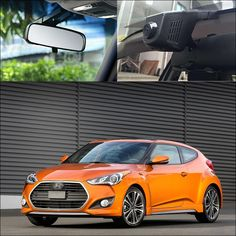 For Hyundai veloster Car Wifi DVR HD 1080P Car Driving Video Recorder Hidden installation G-sensor Dash Cam Car Black Box