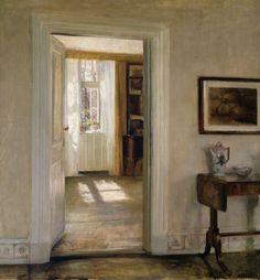 Bild:  Carl Holsoe - Interior with Garden
