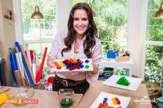 Teach your kids a fun DIY & make @tmemme28's Jello Legos! Catch #Homeandfamily weekdays at 10/9c on Hallmark Channel!